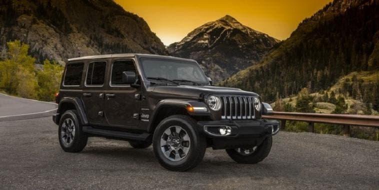 Jeep Wrangler 2018: le prime fotografie