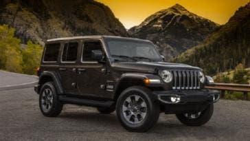 Jeep Wrangler 2018 immagini ufficiali
