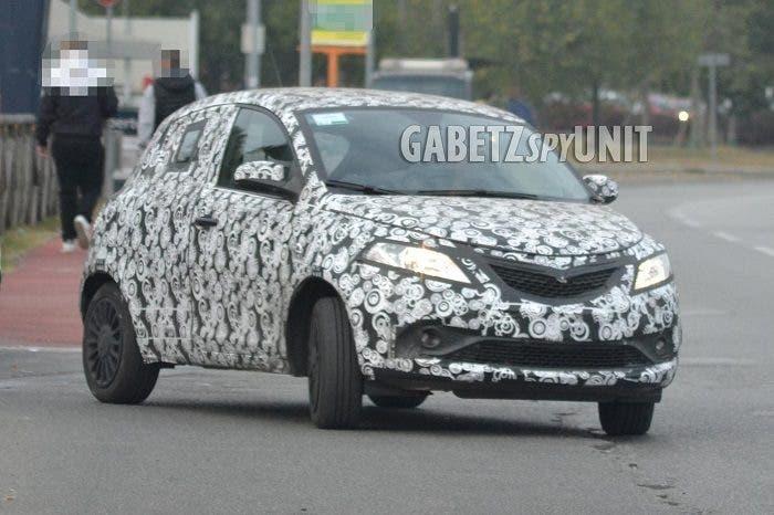 Lancia Ypsilon 2018 foto leaked