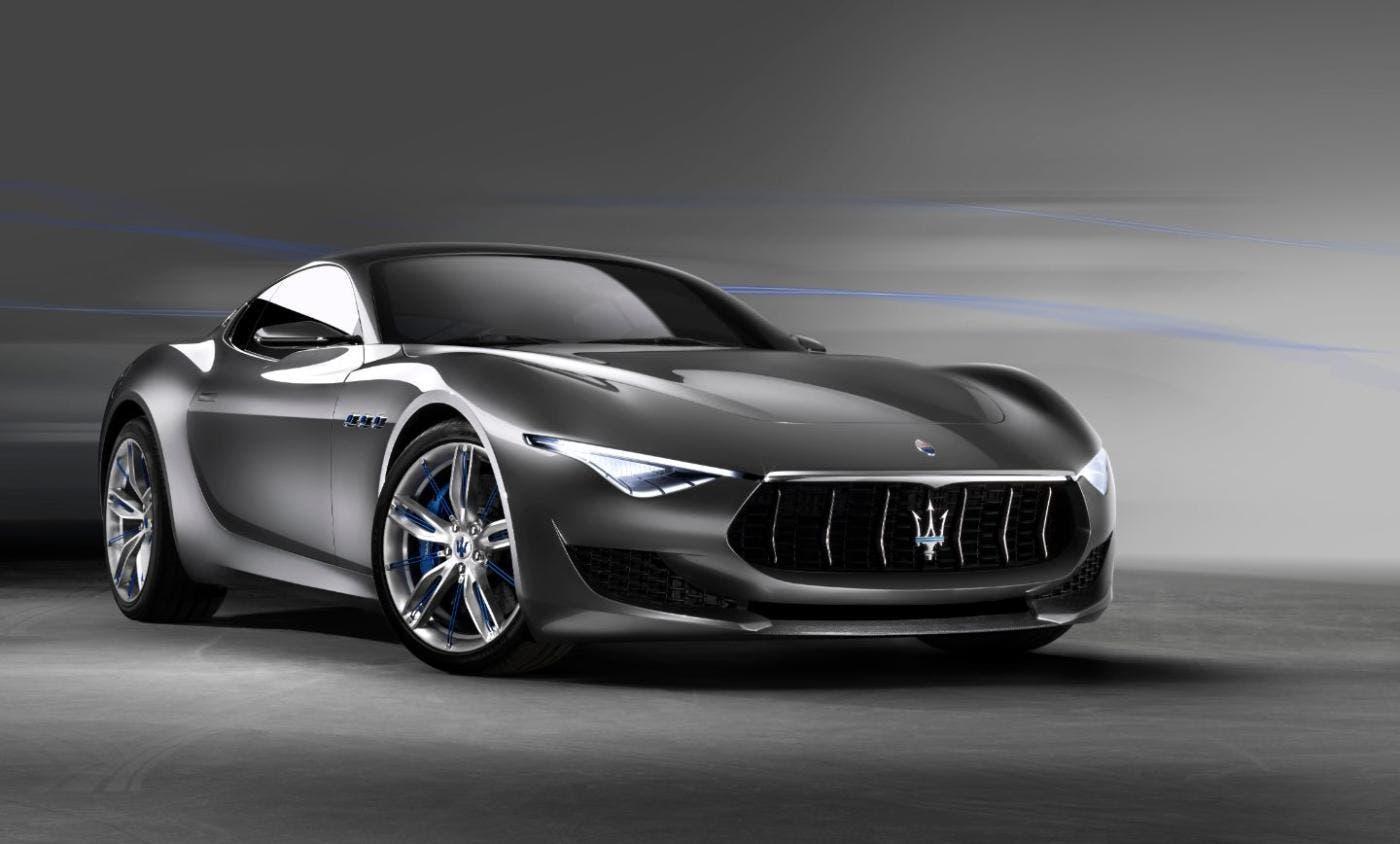 Maserati Alfieri render Wojciech Jurkowski