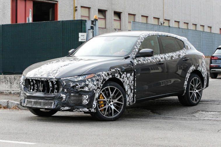 Maserati Levante GTS Spy
