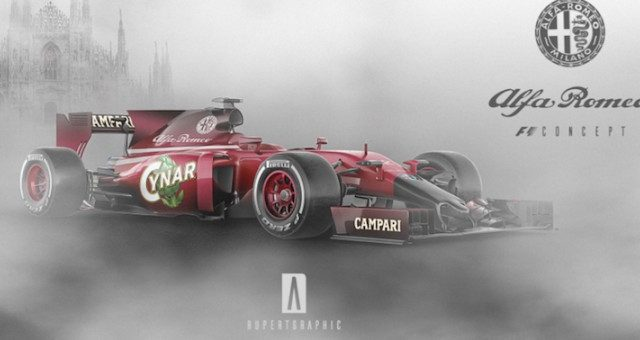 Alfa Romeo Formula 1 fan mondo