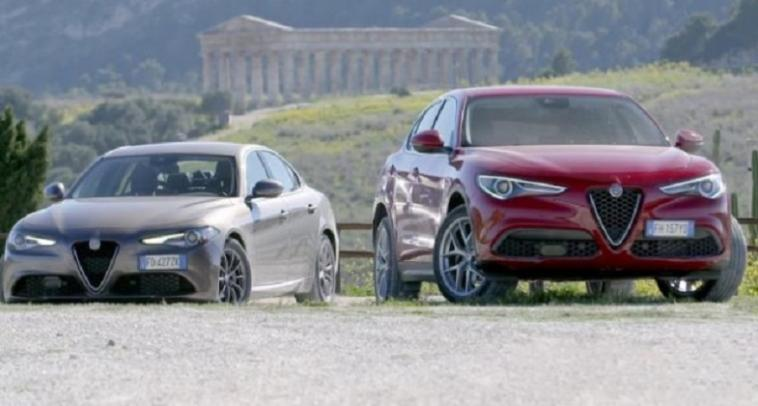 Alfa Romeo Giulia e Stelvio Winter Emotions