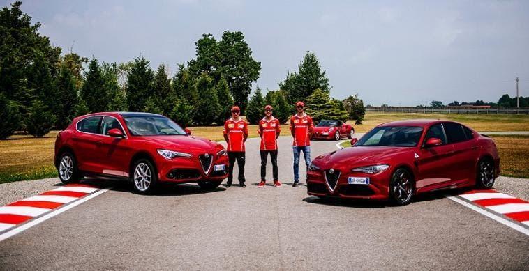 Alfa Romeo Giulia E Stelvio Mostrate Le Performance Della Trazione