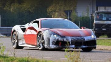 Ferrari 488 GTO foto leaked