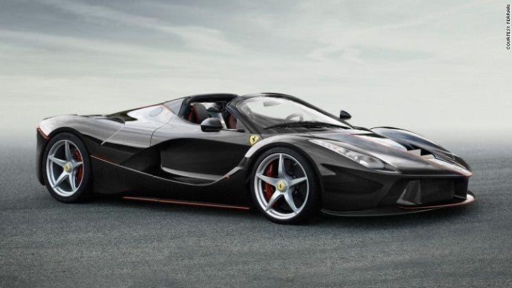 Ferrari LaFerrari Aperta Supercar Francia