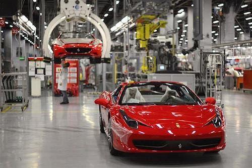 Ferrari aumento produzione Maranello