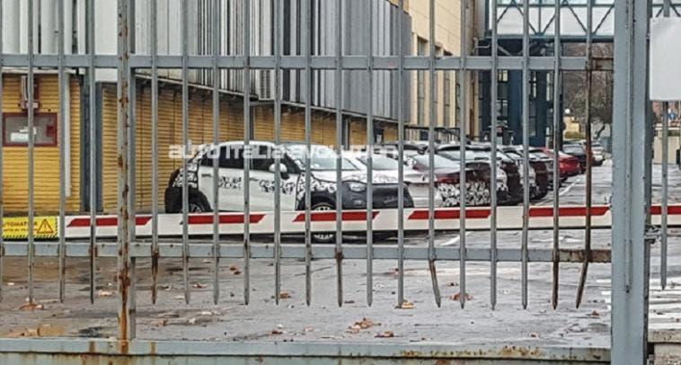 Fiat 500X restyling foto leaked