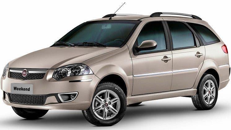 Fiat Weekend fine produzione Brasile