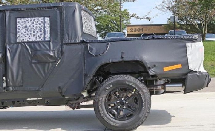 Jeep Scrambler foto leaked