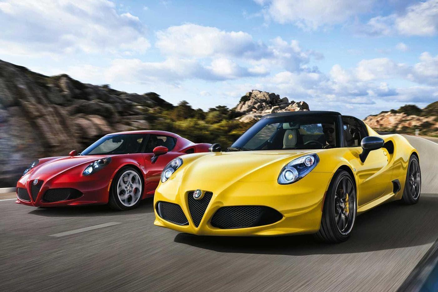 Alfa Romeo 4C e Giulietta Autoexpress