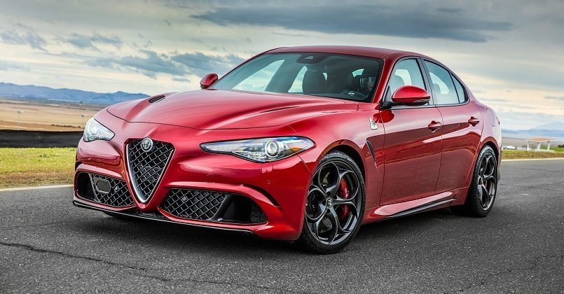 Alfa Romeo Giulia finale World Car of the Year 2018