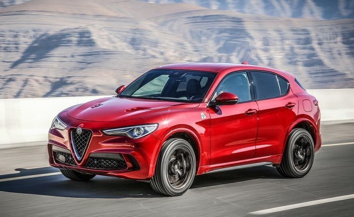 alfa romeo stelvio quadrifoglio sebastian vettel alla guida del suv video. Black Bedroom Furniture Sets. Home Design Ideas