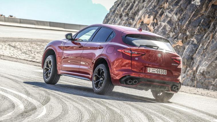 Alfa Romeo Stelvio Quadrifoglio Sebastian Vettel video