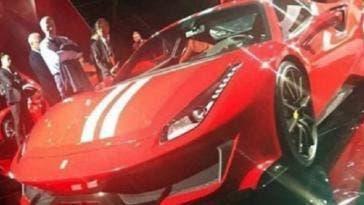 Ferrari 488 GTO lista caratteristiche clienti