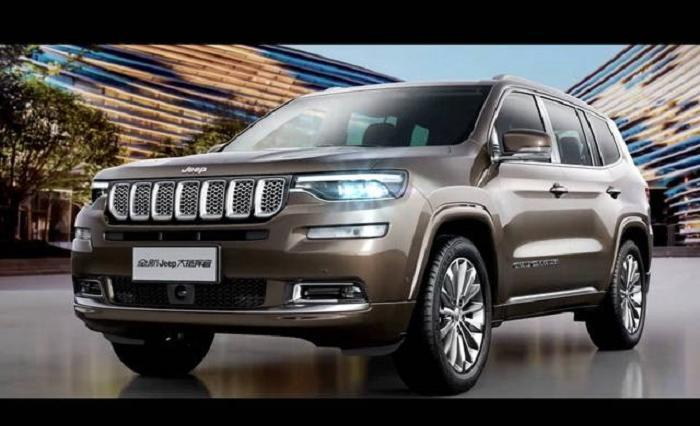 Jeep Grand Commander ufficiale