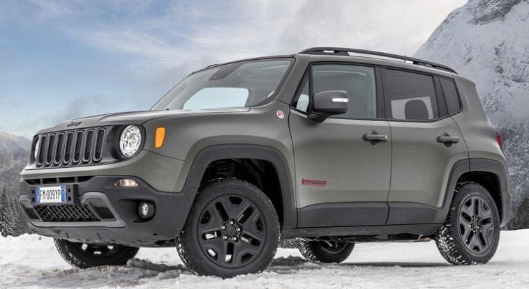 Jeep Renegade più tecnologia