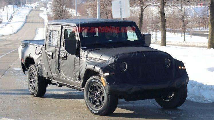 Jeep Scrambler produzione aprile 2019