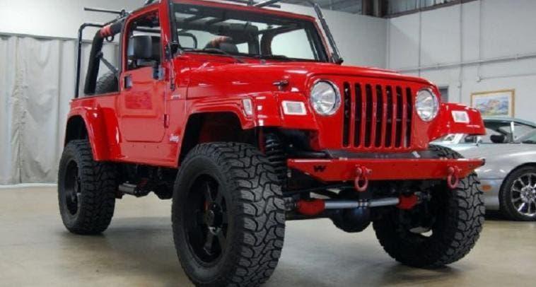Jeep Wrangler Unlimited SRT10