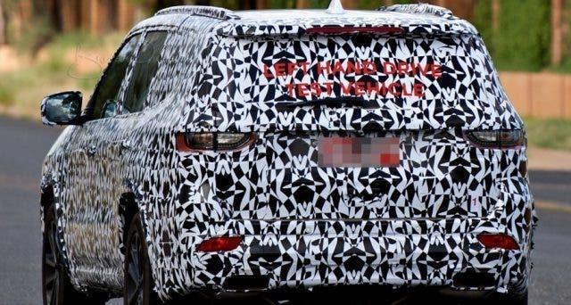 Jeep Yuntu nuove foto spia