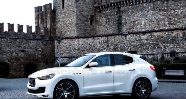 Maserati SUV compatto render Ascariss Design