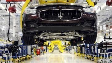 Maserati nuova cassa integrazione stabilimento Grugliasco