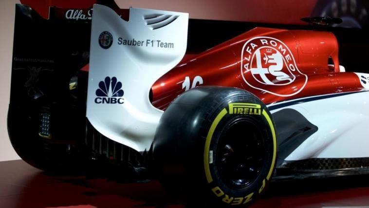 Alfa Romeo Sauber F1 prima accensione motore