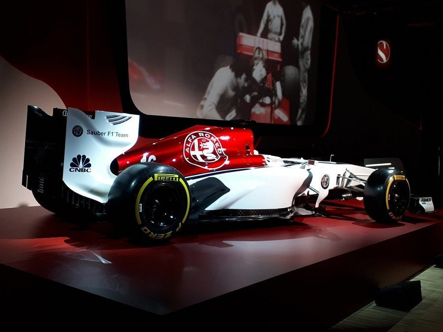 Alfa Romeo Sauber monoposto crash test