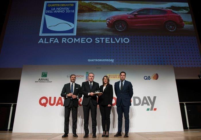 Alfa Romeo Stelvio Novità dell'Anno 2018
