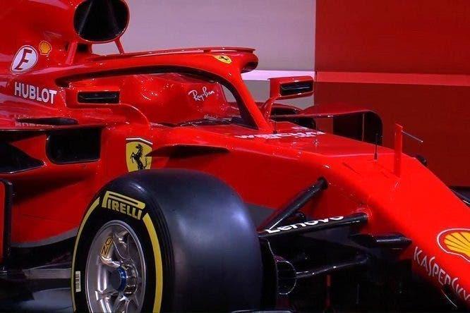 Ferrari SF71H primi test