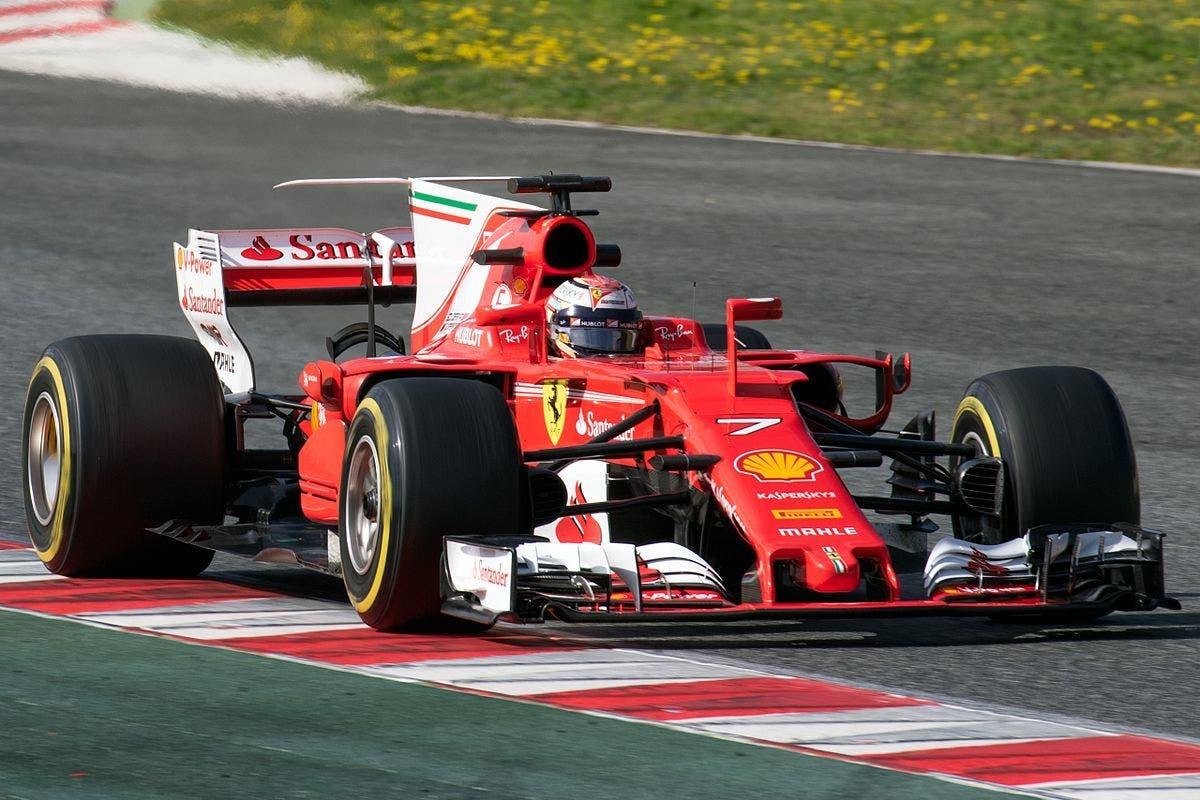 Ferrari accensione motore monoposto Formula 1