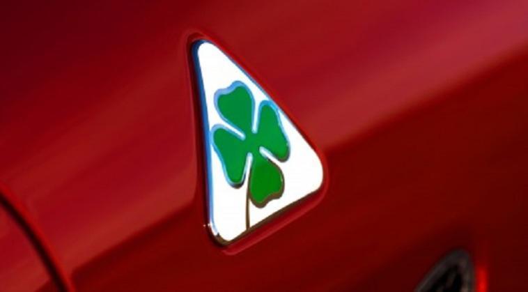 Ferrari monoposto Quadrifoglio Verde Alfa Romeo