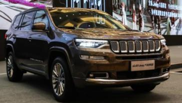 Jeep Grand Commander prezzi