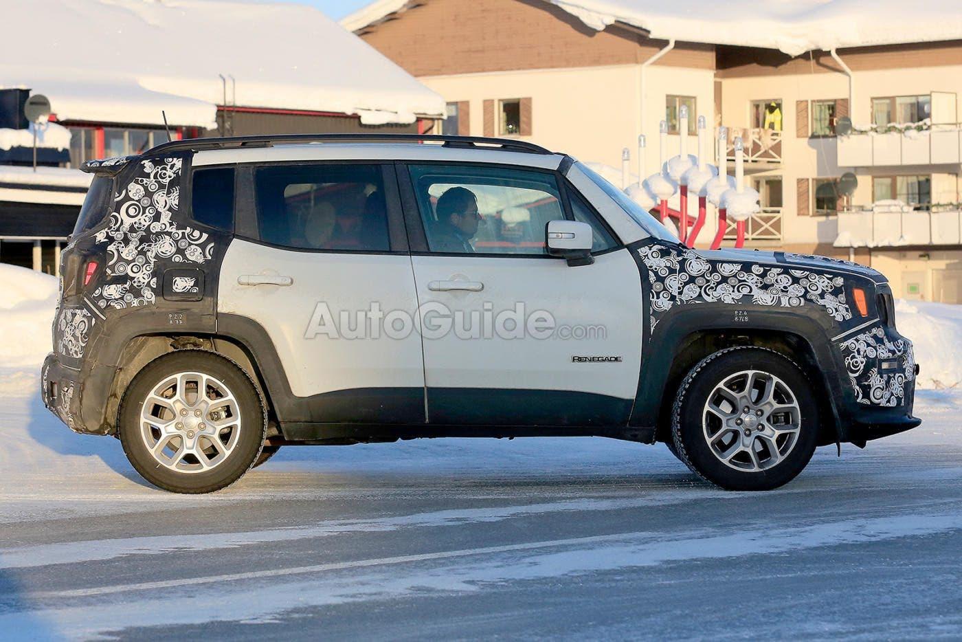 Jeep Renegade 2018 nuove immagini
