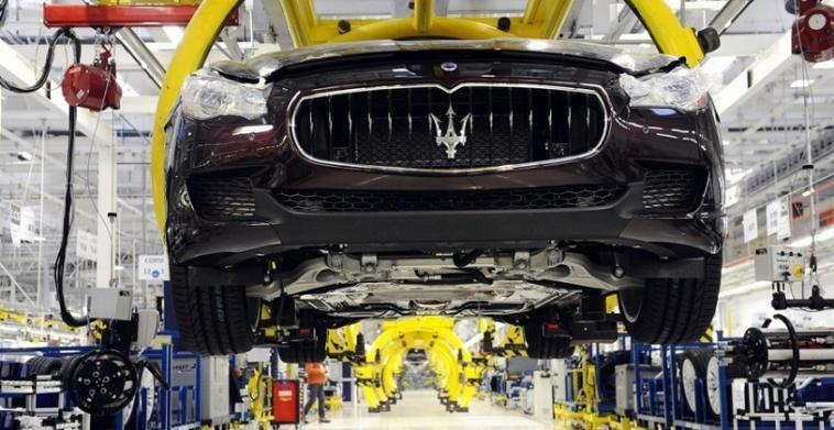 Maserati cassa integrazione Grugliasco