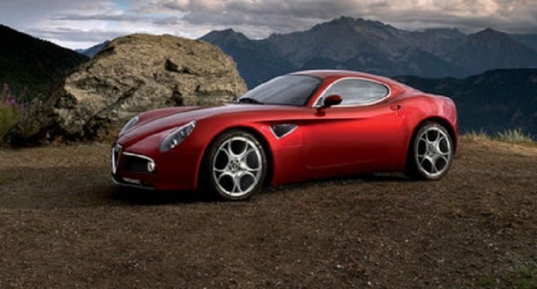 Alfa Romeo 8C Coupé asta