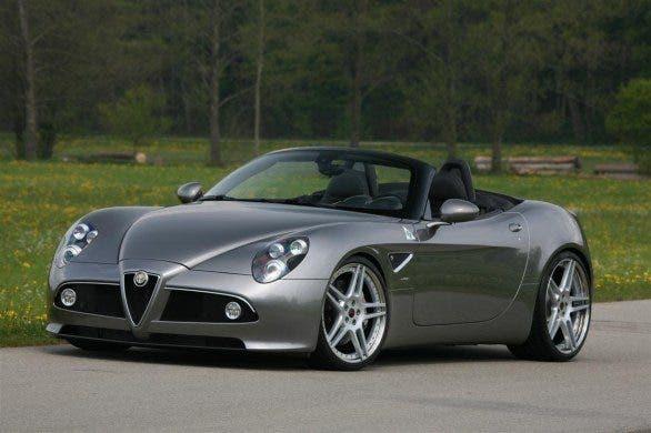 Alfa Romeo 8C Spyder asta