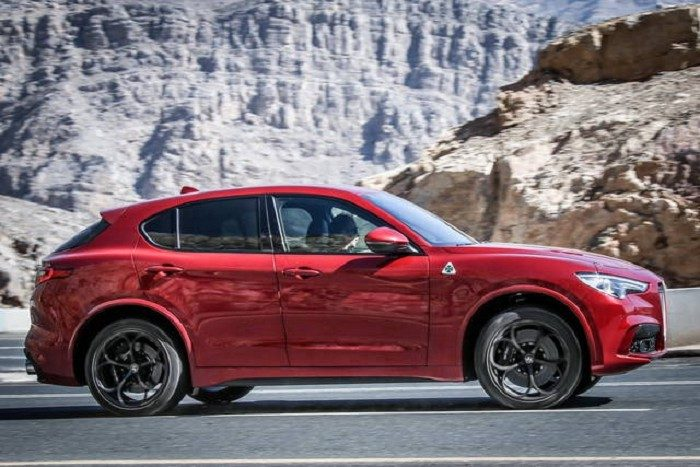 Alfa Romeo Stelvio noleggio a lungo termine Leasys