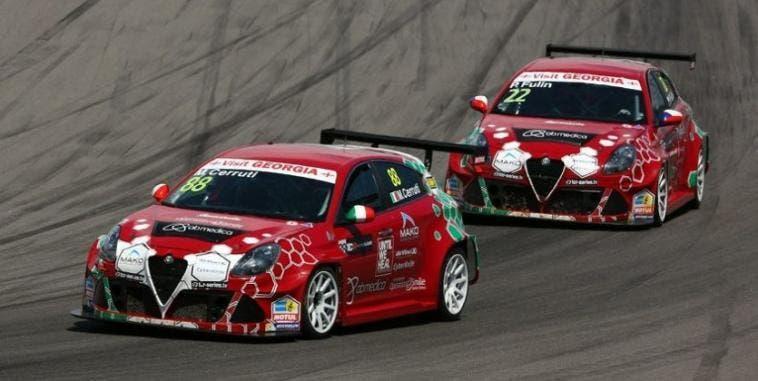 Alfa Romeo WTRC Gianni Morbidelli
