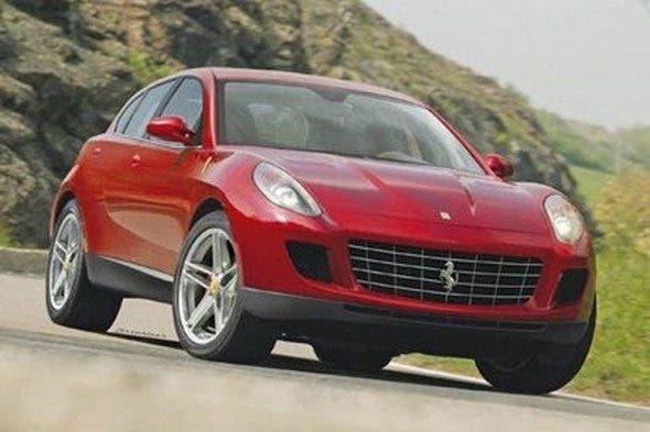 Ferrari SUV motore ibrido