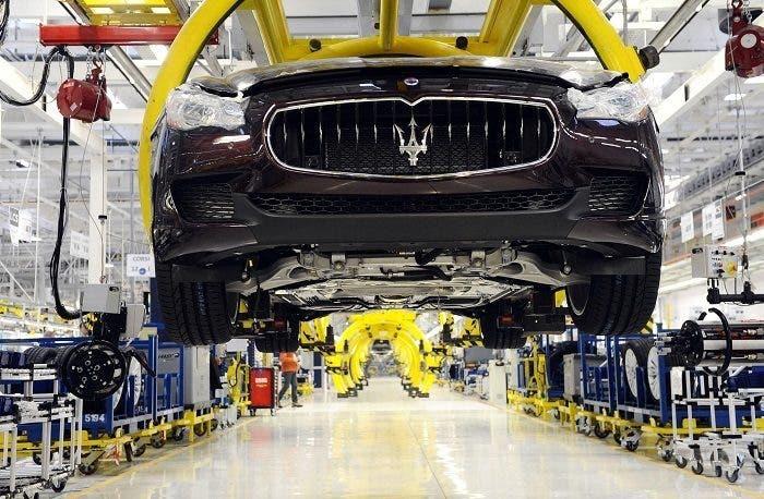 Maserati cassa integrazione aprile Mirafiori e Grugliasco
