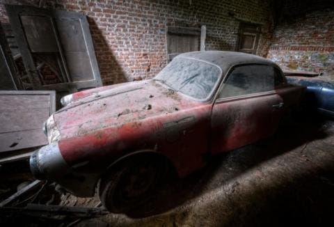 Alfa Romeo abbandonate