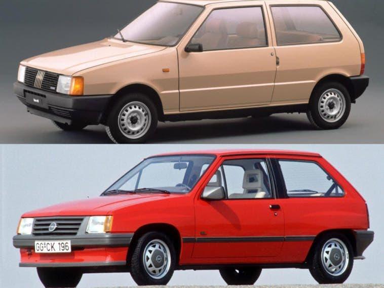 Fiat Uno vs Opel Corsa A