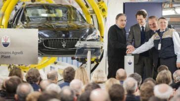 Stabilimento di Grugliasco Maserati FCA