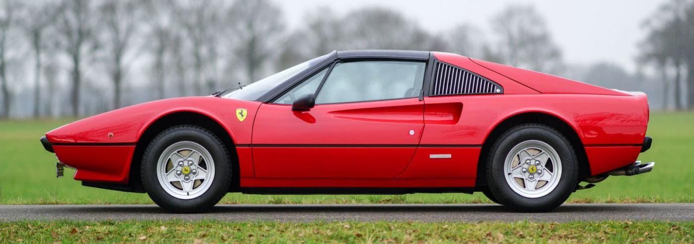 Ferrari 308 GTS elettrica