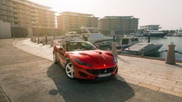 Ferrari Portofino tour Emirati Arabi Uniti