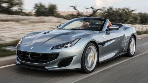 Ferrari Portofino tour Europa