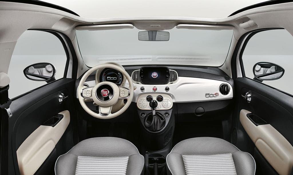 Fiat 500 Collezione tour europeo