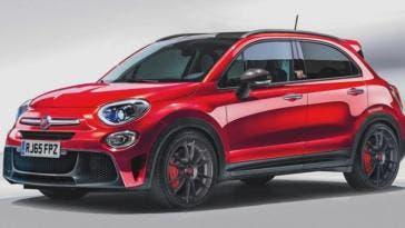 Fiat 500X Abarth nuove indiscrezioni