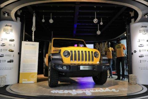 Jeep Adventure MotorVillage Champs-Elysées